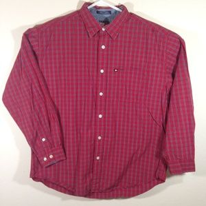 Vintage 90s Tommy Hilfiger Jeans Long Sleeve Shirt
